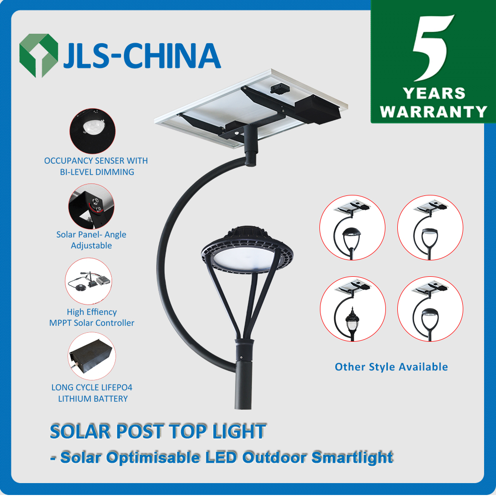 60W Solar LED Post Top Light