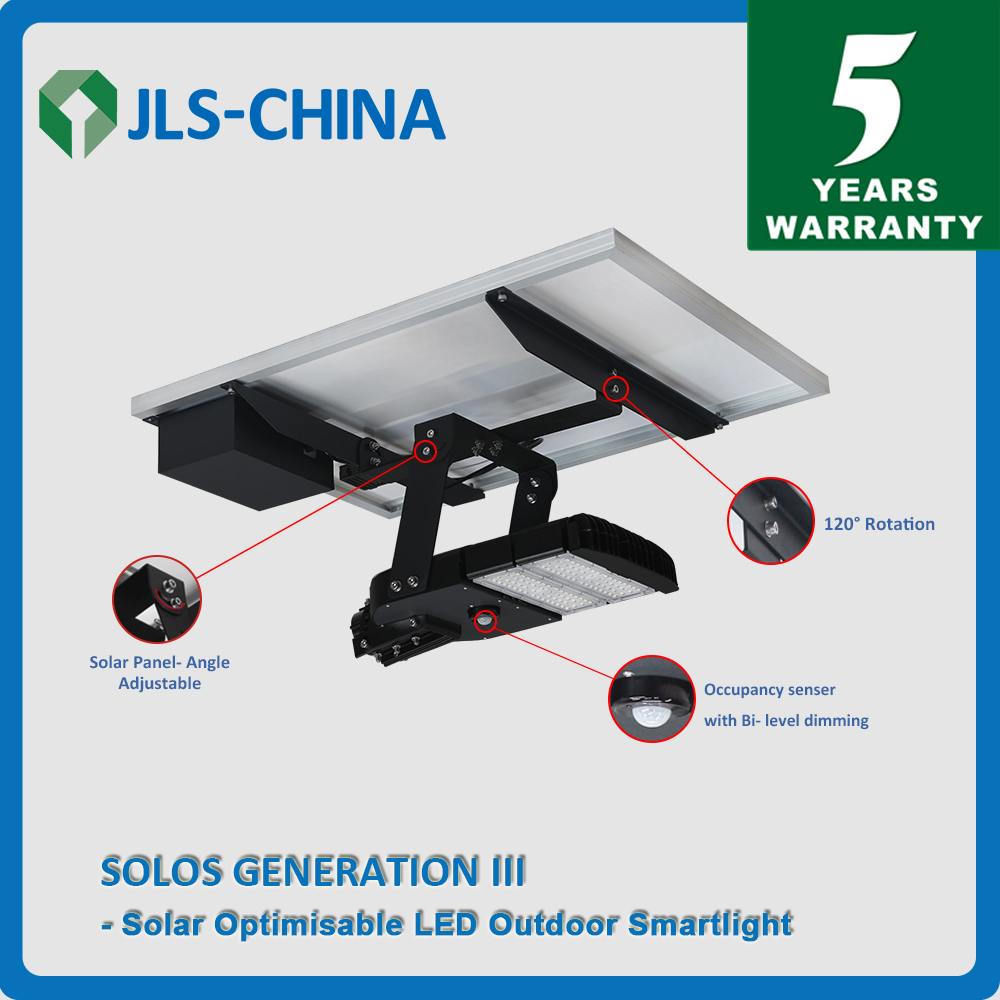 60W Solar Optimizable LED Outdoor Smartlight (Generation III)