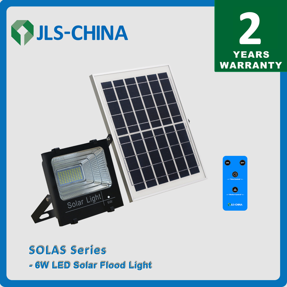 6W Solar LED Flood Light